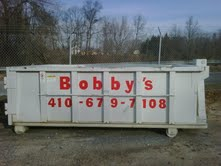Bobby's Roll-Off Container Baltimore